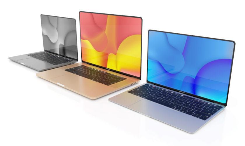 Le MacBook Pro 16 pouces embarquera un clavier