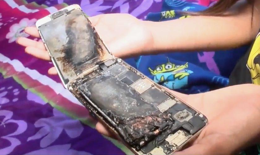 L'iPhone 6 d'une fillette de 11 ans explose, Apple enquête