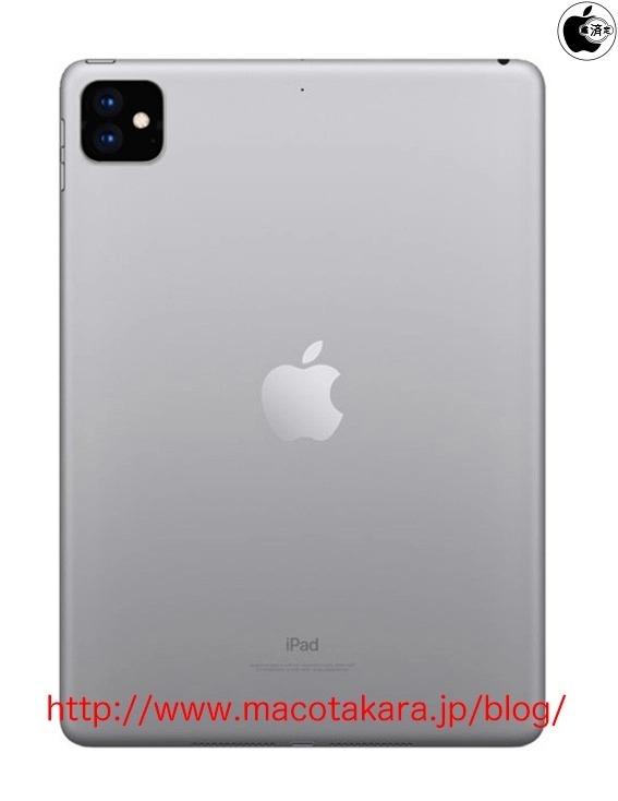 La triple caméra de l'iPhone 11 sur l'iPad Pro 2019 ?
