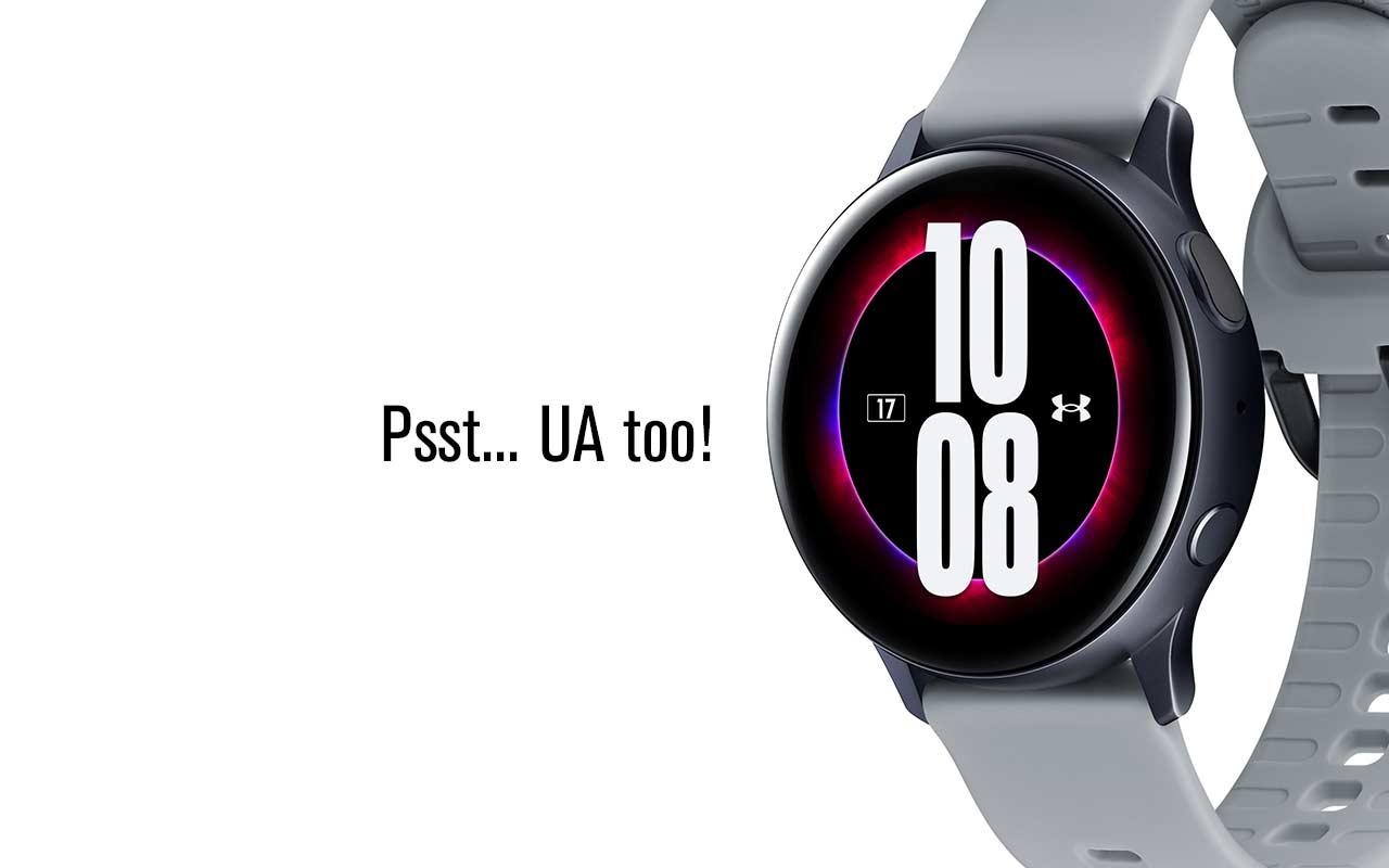 Samsung lance une Galaxy Watch Active 2 Under Armour Edition idéale pour les sportifs