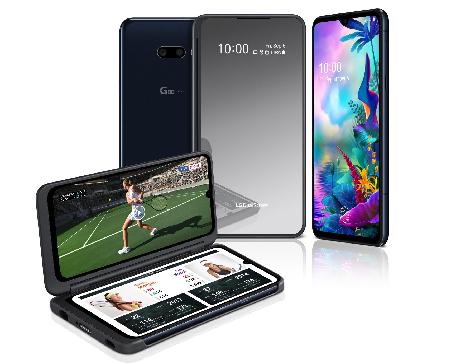 IFA 2019 : LG présente le G8X ThinQ, son nouveau smartphone doté de deux écrans