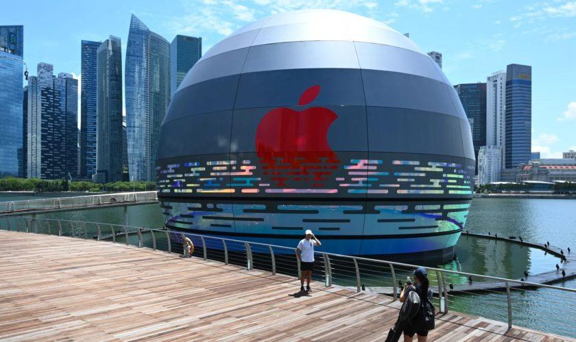 Apple ouvre le tout premier magasin géant flottant au monde