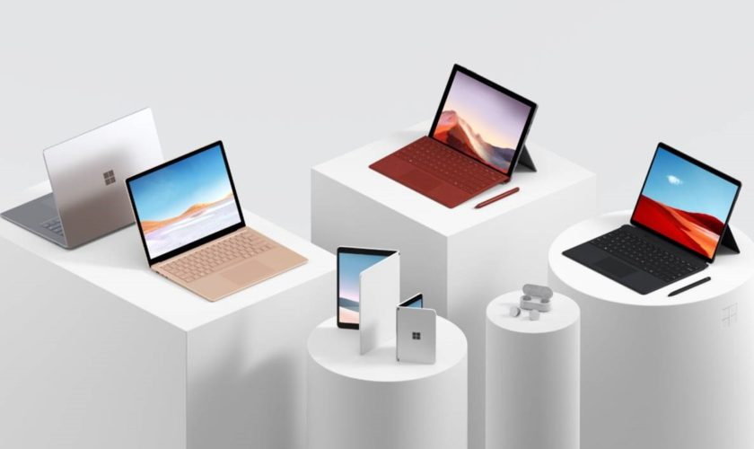 Fuite de nouvelles images de Surface Laptop 4 et Surface Pro 8