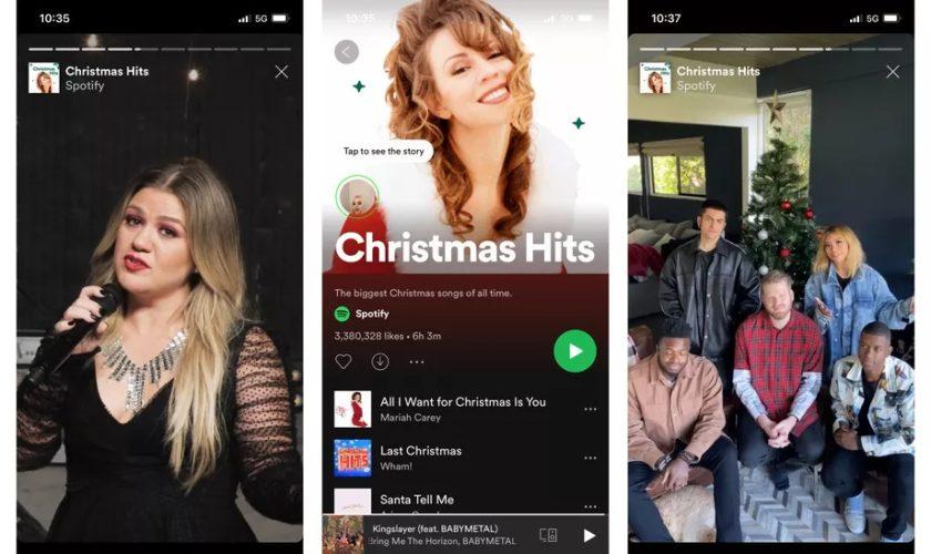 Les Stories des artistes arrivent sur Spotify en phase de test